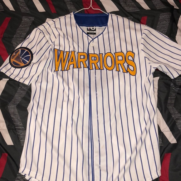 reputable site dce68 3d878 Golden State Warriors jersey (baseball jersey)